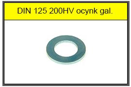 DIN 125 200HV
