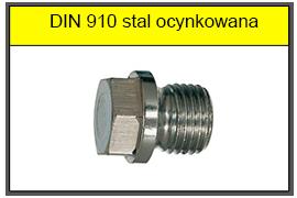 Korek DIN 910